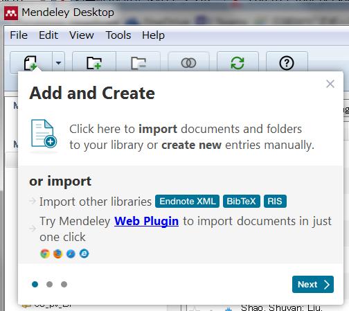 Add and Create button